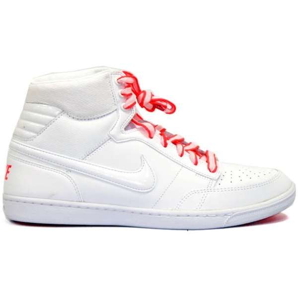 Кеды Nike wmns Double Team white/solar red